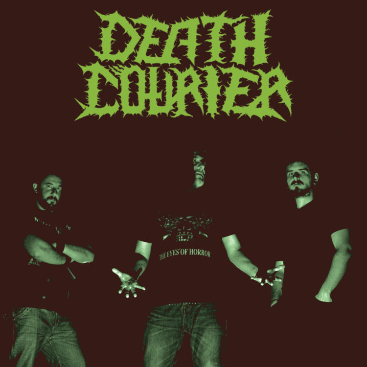 Death Courier who have released 'Necrotic Verses'