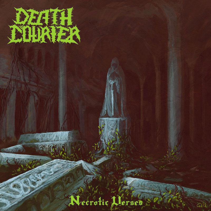 Death Courier album cover 'Necrotic Verses'