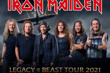 Iron Maiden Tour 2021