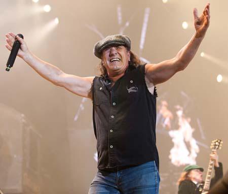 Photo of Brian Johnson - AC/DC