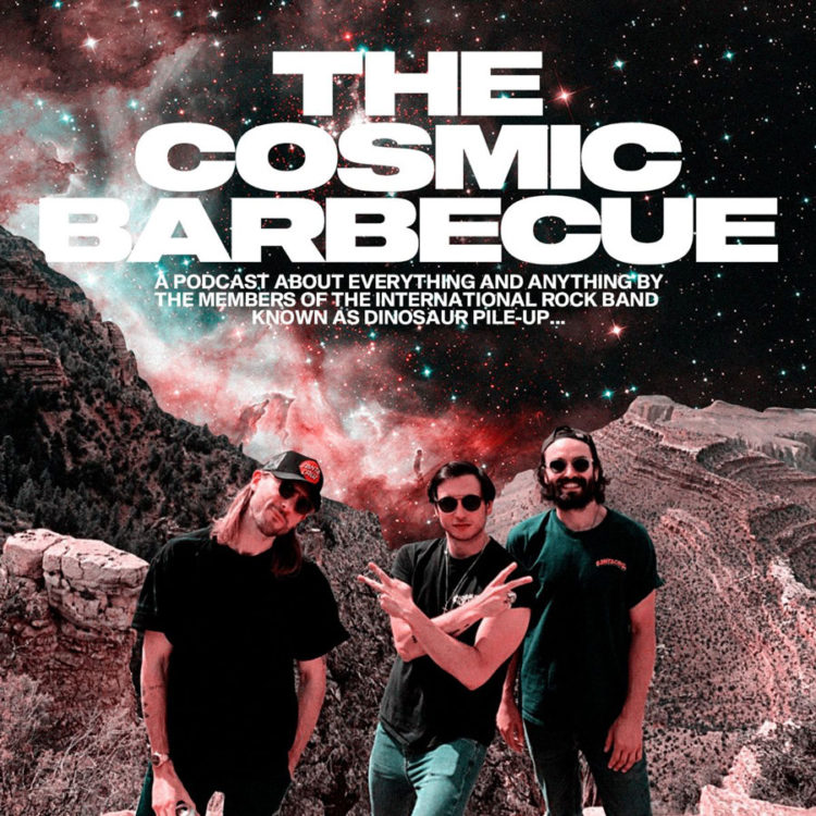 Cosmic-BBQ. Podcast of Dinosaur Pile-up