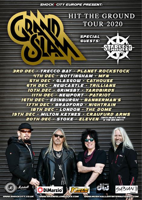 Grand Slam December Tour dates