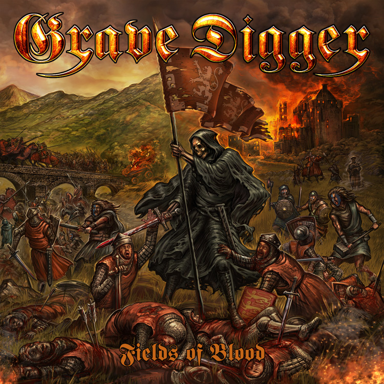 Album cover of Fields Of Blood by Grave Digger