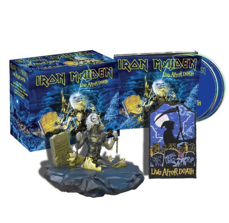 Live after Death album cover, from Iron Maiden