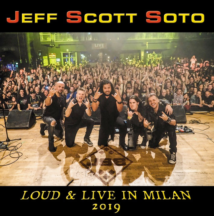 Album cover for Jeff Scott Soto - Live in Milan 2019