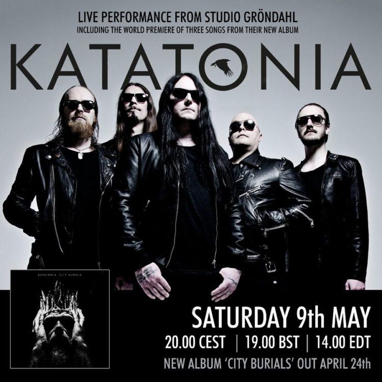 Katatonia Live Stream Poster