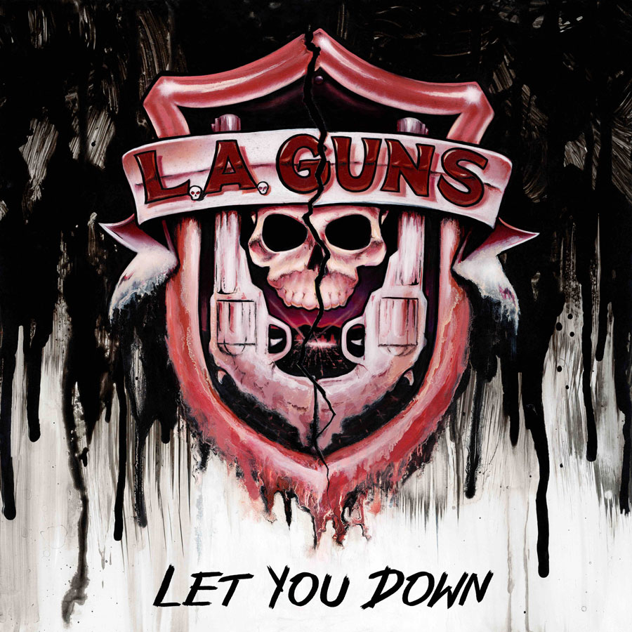 Image of L.A. Guns single 'Let You Down'