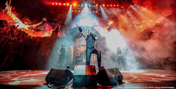 Manowar who have announced 2021 Tour Dates