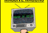 Massive Wagons House of Noise album cover