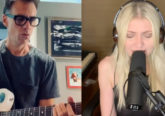 Taylor Momsen and Matt Cameron performing Halfway There'