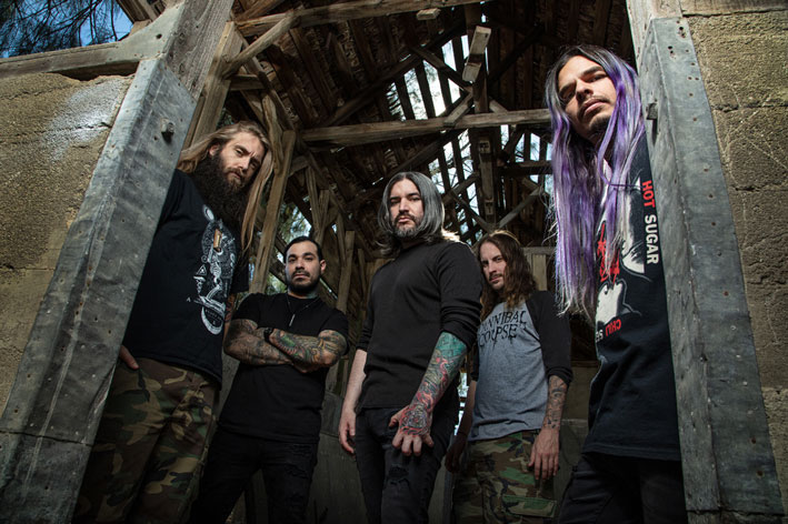 Photo of the band Suicide Silence