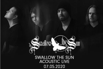 Swallow The Sun - Acoustic show poster.