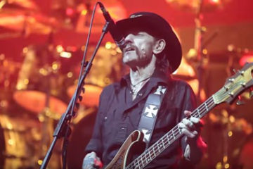 Photo of Lemmy, from Motörhead