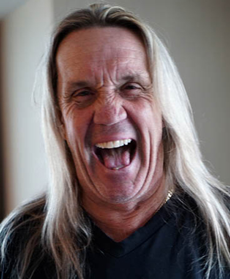 Photo of Nicko McBrain, from Iron Maiden