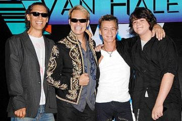 Image of Van Halen in 2012
