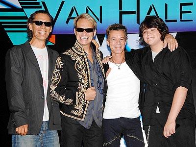 Image of Van Halen in 2012