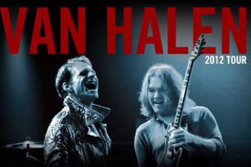 Van Halen tour 2012