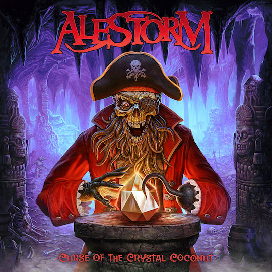 Photo of Alestorm album cover - Curse of the Crystal Coconut