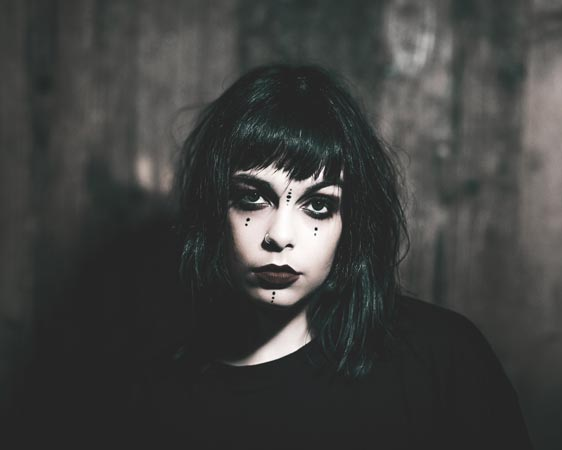 Photo of Cat Pereira from the band Derange