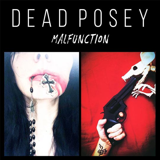Photo of EP Cover fo Malfunction, from Dead Posey
