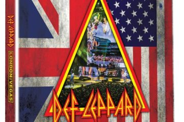DVD Box cover for Def Leppard London To Vegas release