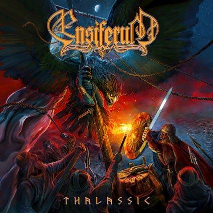 Cover of the Ensiferum album Thalassic
