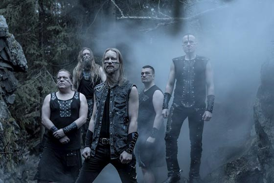 Photo of the band Ensiferum