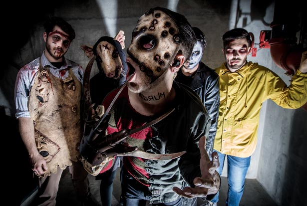 Photo of the bandIce Nine Kills, who were described as 'too evil for children'
