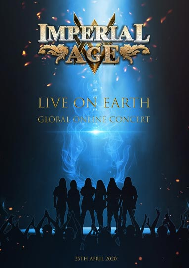 Cover the the new Imperial Age lockdown concert DVD