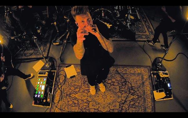 Screen shot from Papa Roach INFEST IN-Studio