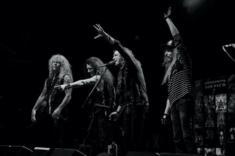 Photo of the band Stryper