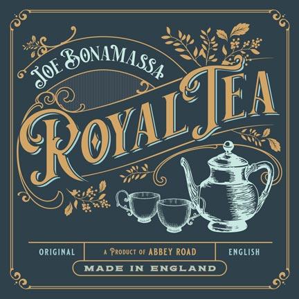 Cover the 'Royal Tea' album, by Joe Bonamassa