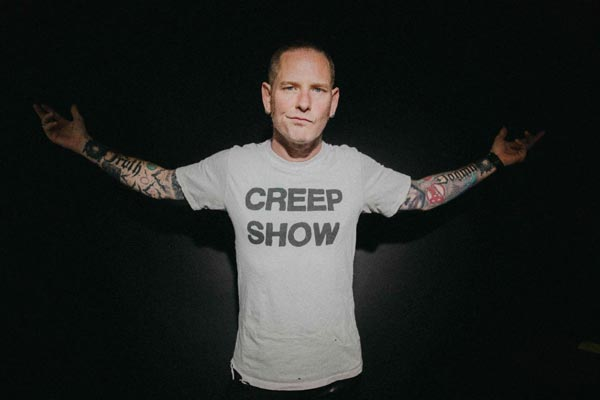 Corey Taylor, who has announced his solo album 'CMFT'