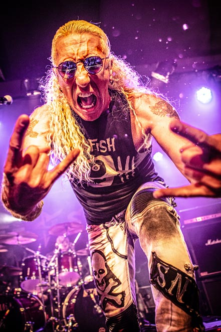 Dee Snider, with new album For The Love Of Metal Live!