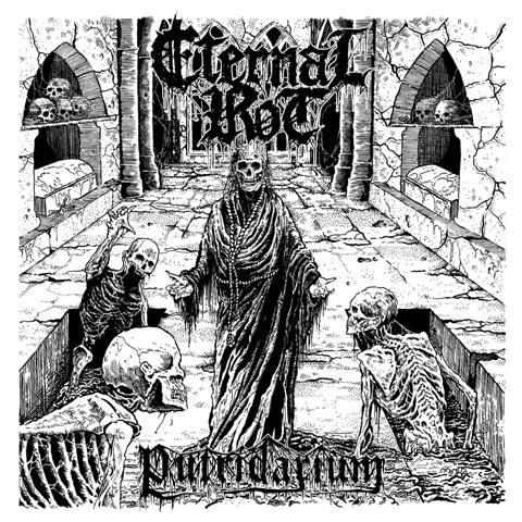 'Putridarium' Album Cover by Eternal Rot