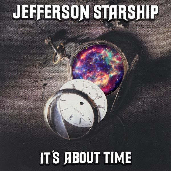 Jefferson Starship - Its About Time single cover
