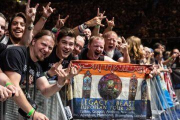Iron Maiden crowd