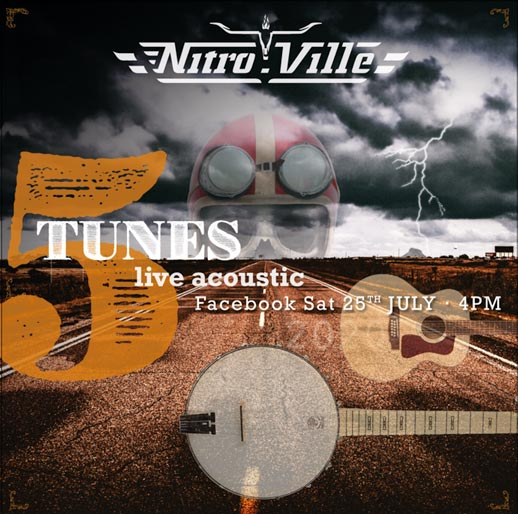 Nitroville - Acoustic show poster