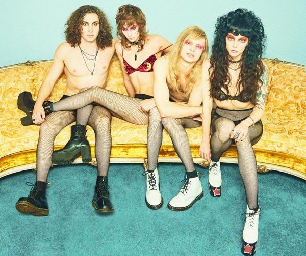 Photo of Atlanta Punk Rockers Starbenders