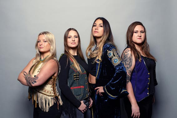 Photo of Swedish band Thundermother