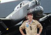 Bruce Dickinson flies a Lancaster