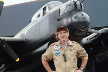Bruce Dickinson flies a Lancaster