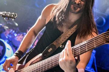 Adrenaline Mob Bass Player David Z