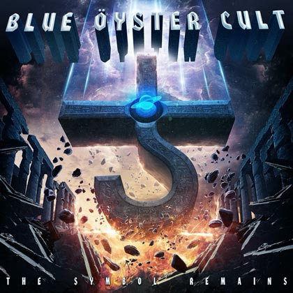 Blue Öyster Cult album cover 'The Symbol Remains'