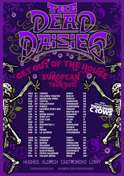 The Dead Daisies-Tour
