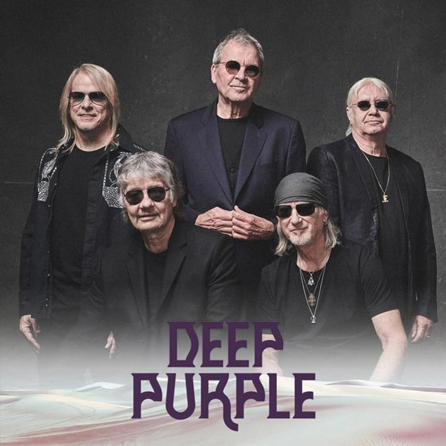 Photo of Deep Purple, whose 21st Album Whoosh is out today
