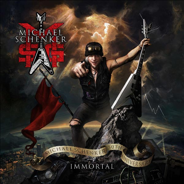 Photo of Immortal, the new album fro Michael Schenker's MSG