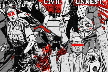 Cover of 'Civil Unrest' by Machine Head