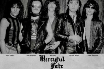 Vintage picture of Mercyful Fate