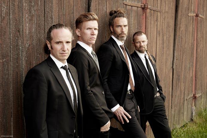 Swedish band Pain of Salvation